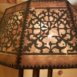 Stiffle Brass Lamp