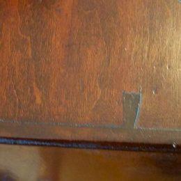 19th C. Slant front Desk