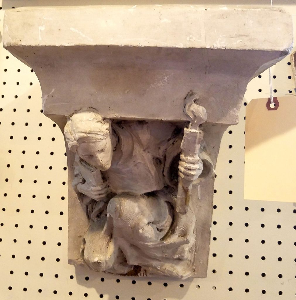 The Devine Flame shelf