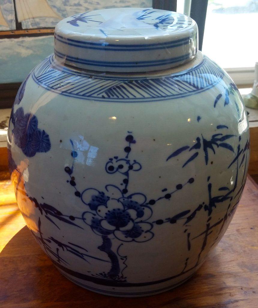 Chinese Import Ginger Jar