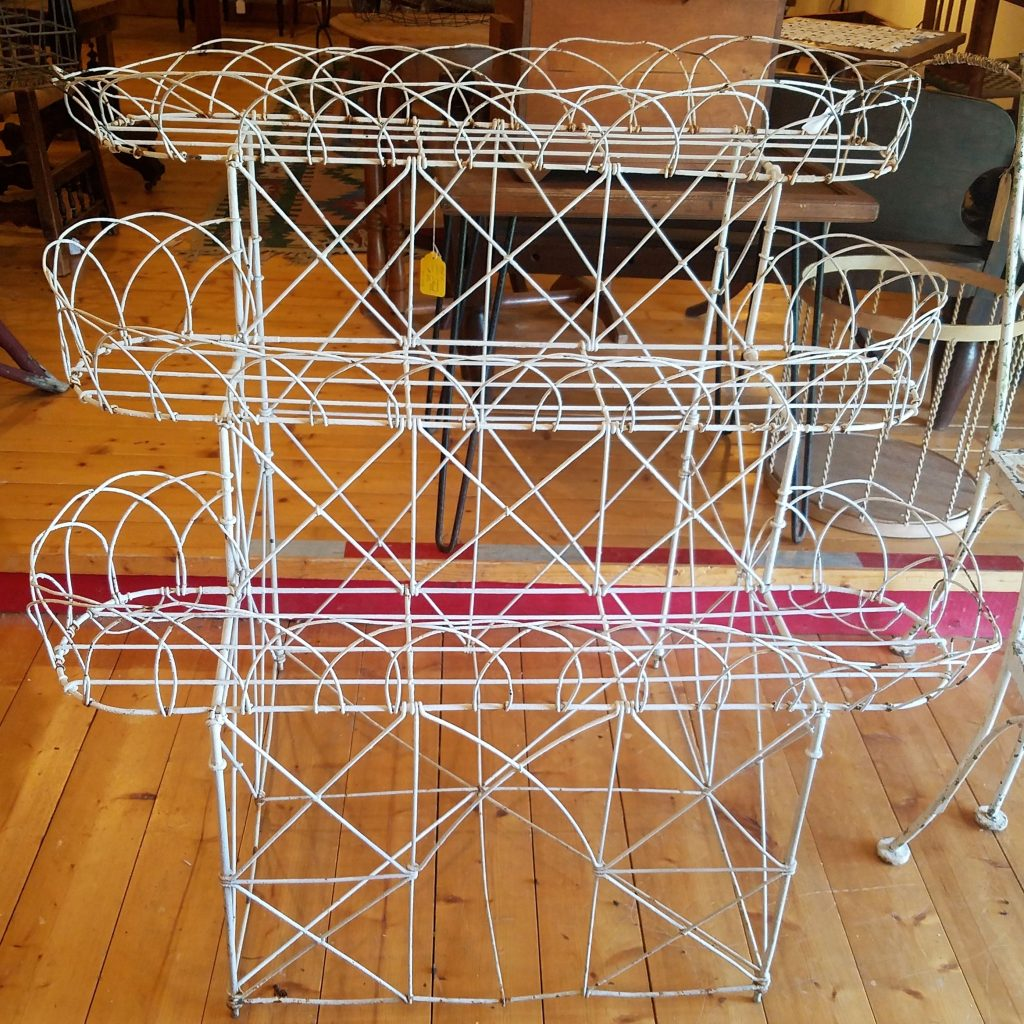 French wire Plant Stand