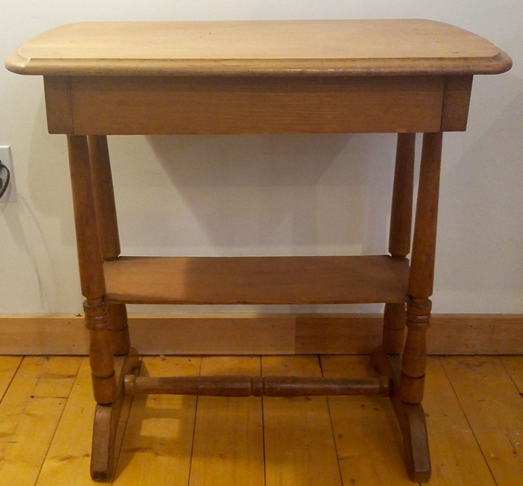 Butternut One Drawer Stand