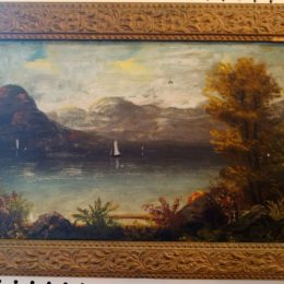 1800's Unsigned Hudson River Painting