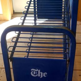 New York Times Newspaper Rack