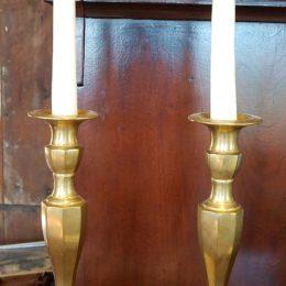 11″ Brass Candlesticks