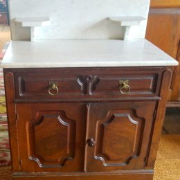 1900's Marble Top Commode