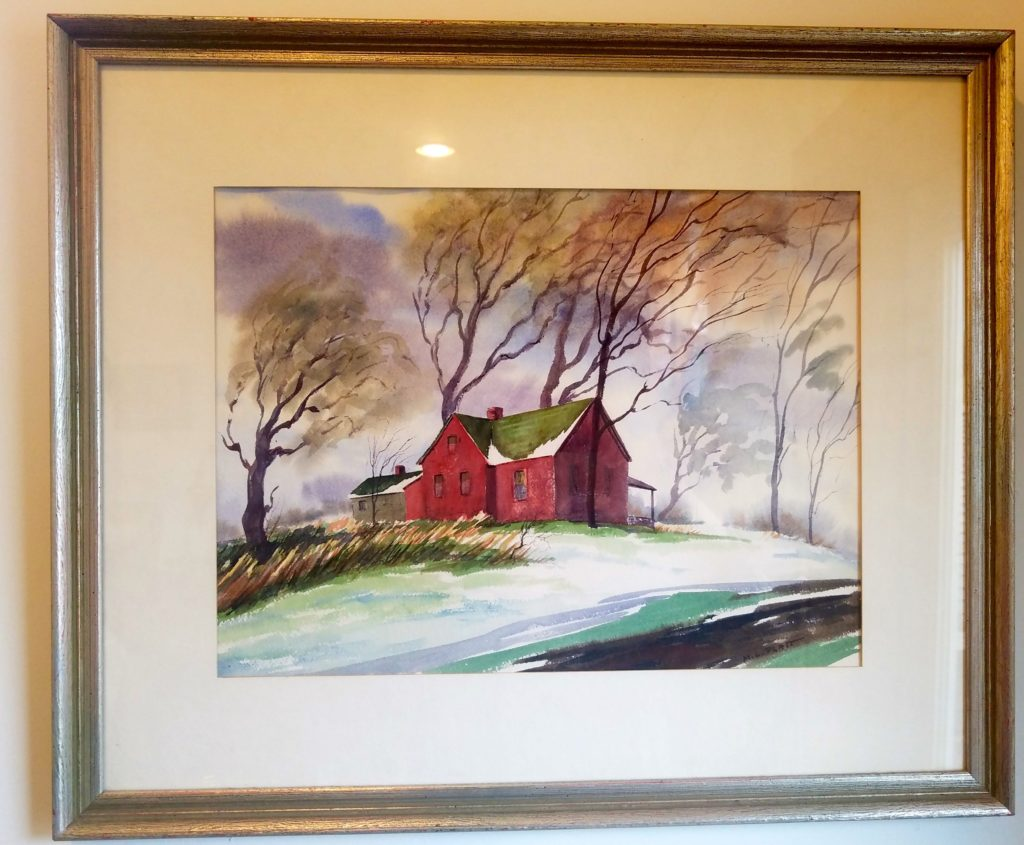 Red Barn by Martha Platt