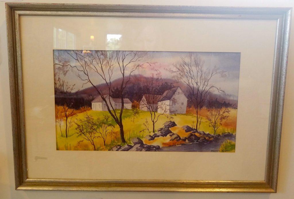 Farm on the Brook by Martha Platt