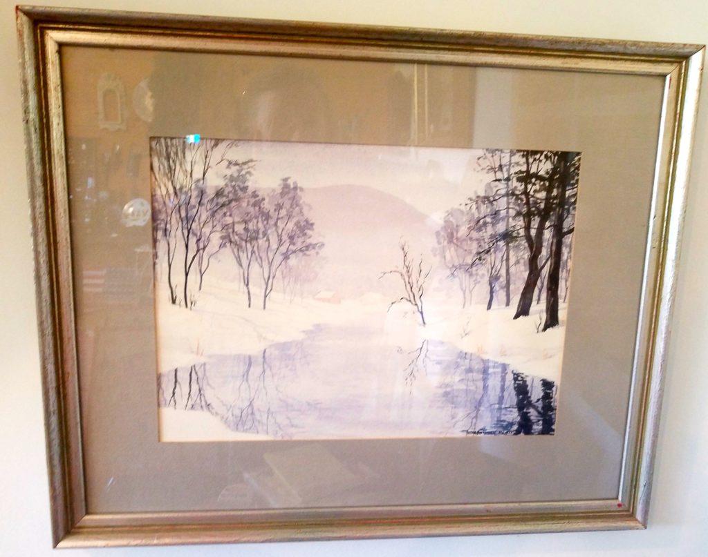A Berkshires Winter by Martha Platt
