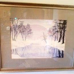A Berkshires Winter by Martha Platt